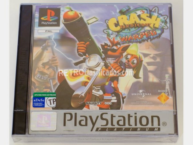 Crash Bandicoot 3 warped
