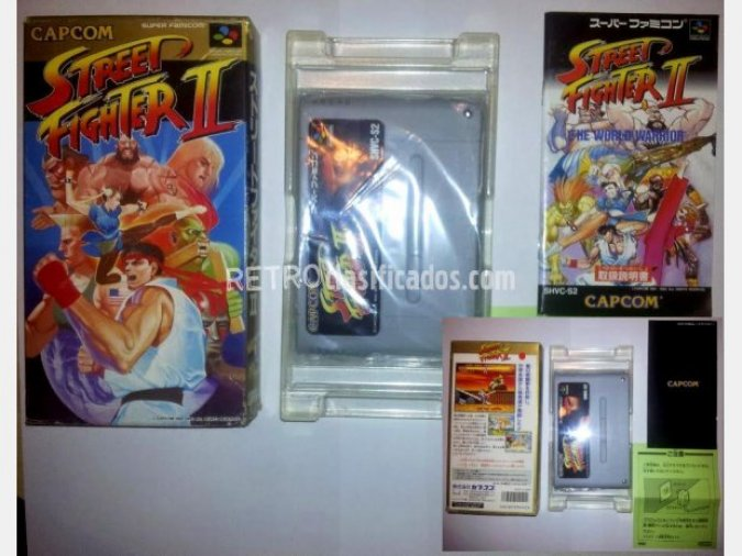 Super Street Fighter 2 JAPONES COMPLETO