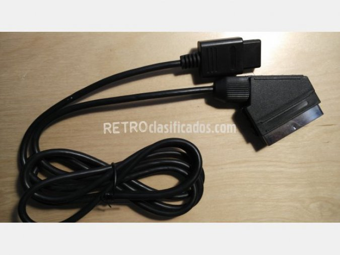 Cable adaptador Euroconector SNES