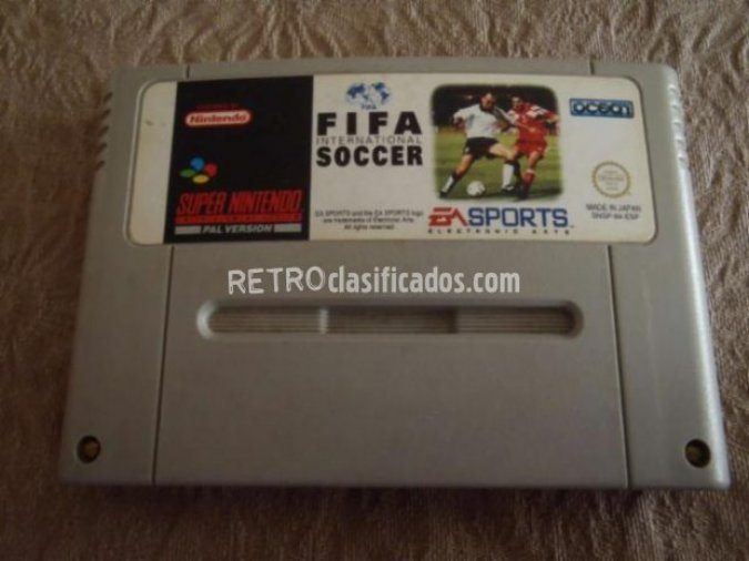FIFA International Soccer (1994)