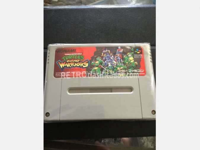 Super famicom turtles mutant warriors