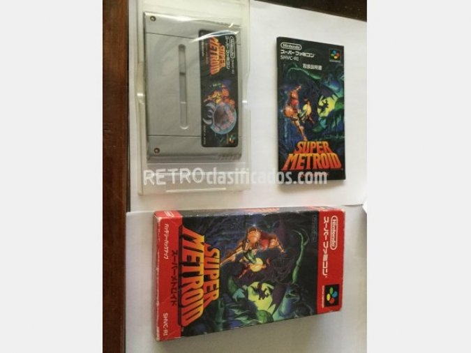 Super Metroid, super famicom.