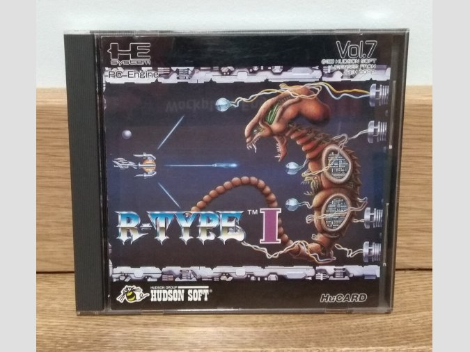 R-Type I. PC-Engine HuCard