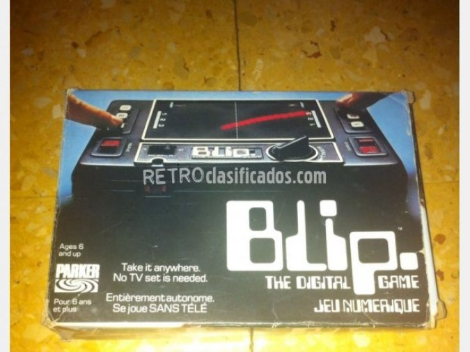 ++++BLIP Digital Game de TOMY Año 1978 +