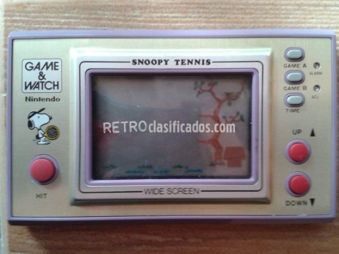 NINTENDO GAME WATCH SNOOPY