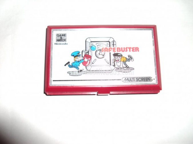Safebuster Nintendo Game&Watch