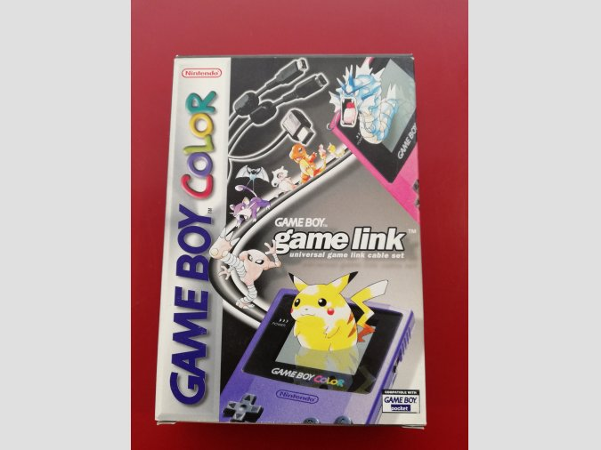 CABLE GAME LINK GAMEBOY COLOR NINTENDO NUEVO