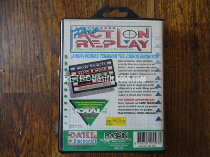 Pro Action Replay PAL (completo) 2
