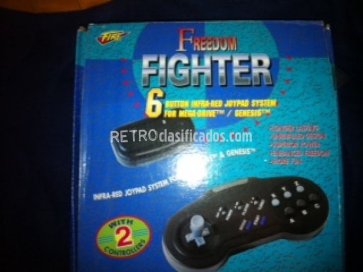 Mandos Inhalambricos Freedom Fighter 2