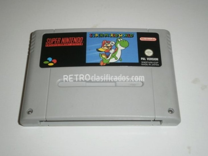 Super Mario World para Super Nintendo