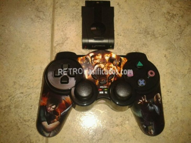 Mando inalámbrico wireless playstation 1