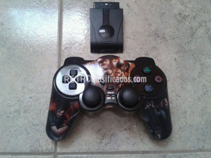 Mando inalámbrico wireless playstation 2