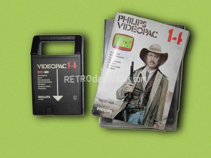 PHILIPS VIDEOPAC 14 GUNFIGHTER