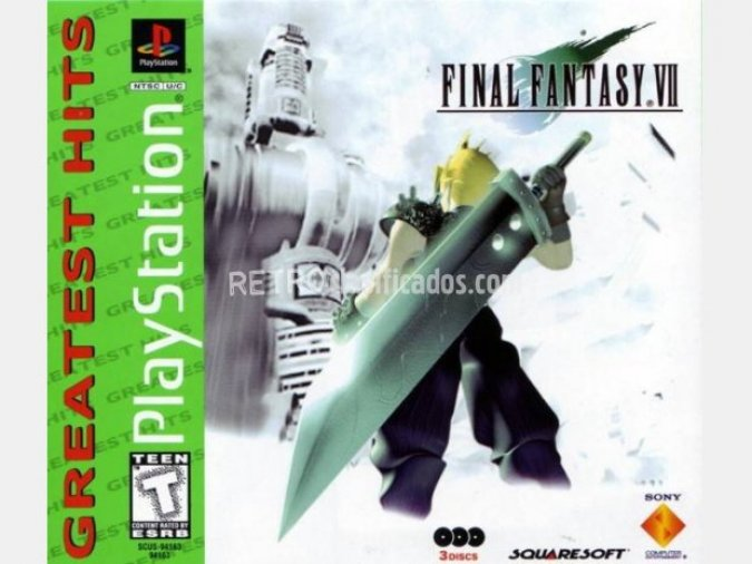 Final Fantasy 7 NTSC-USA