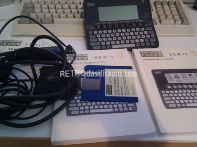 PDA Retro Psion Serie 3 - Printer Cable