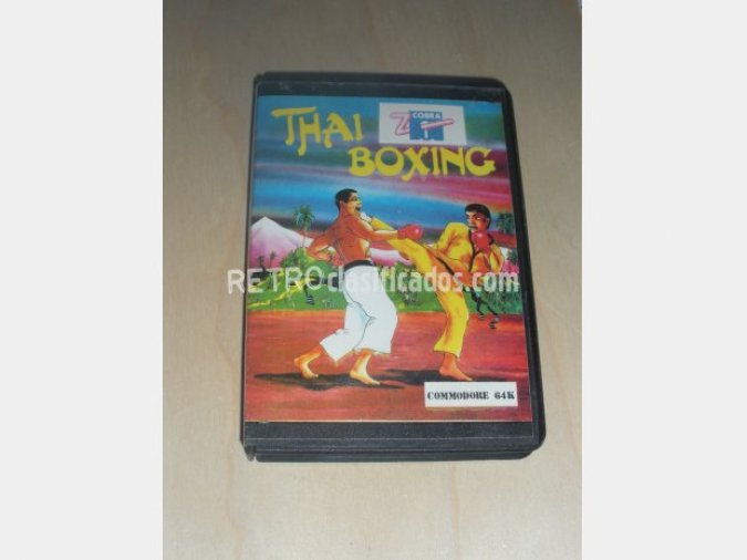 THAI BOXING Juego COMMODORE