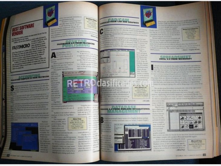 Revista americana. Computer Shopper.1992 2