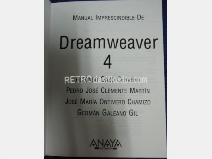 Dreamweaver 4. Manual imprescindible 2