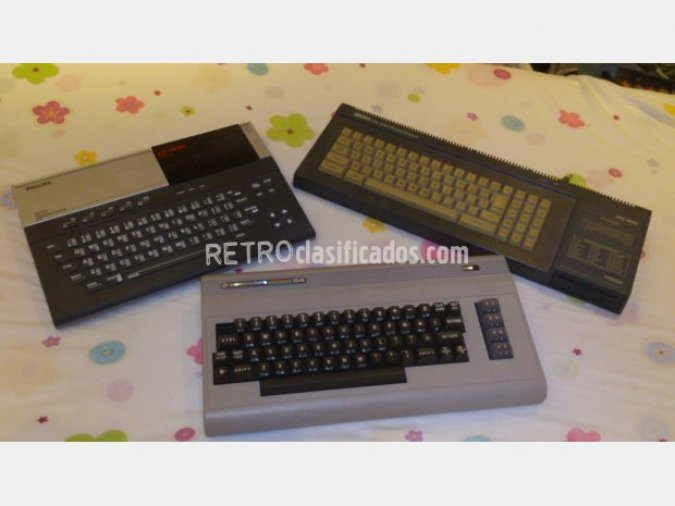 Amstrad 6128, commodore64, philips 8010