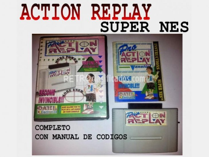 ACTION REPLAY MEGADRIVE-SUPERNES-GAMEBOY 2