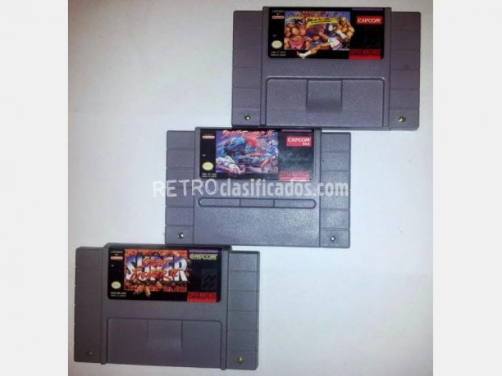 3 Street fighters, Version NTSC 1