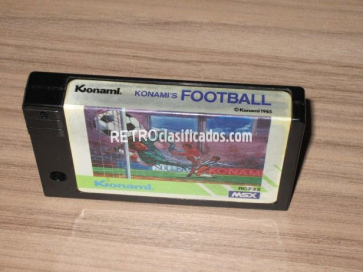 vendo konami football msx