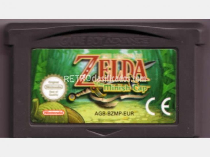GAME BOY ADVANCE + ZELDA 2