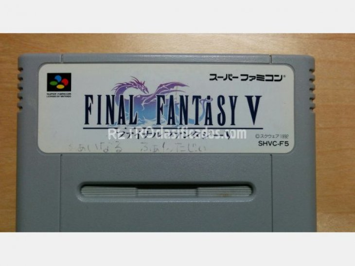 Pack 2 cartuchos Final Fantasy V i VI 2
