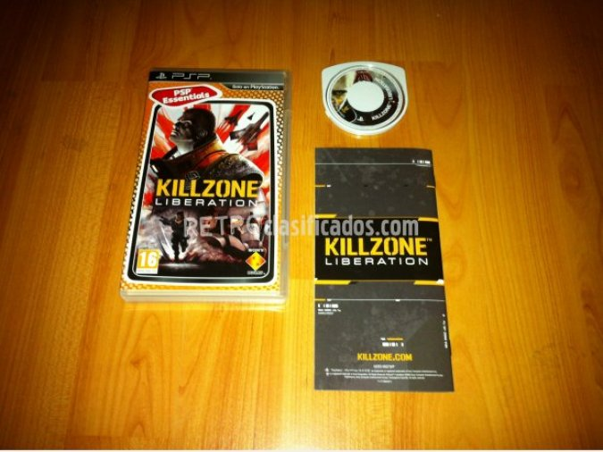 Killzone liberation juego original PSP