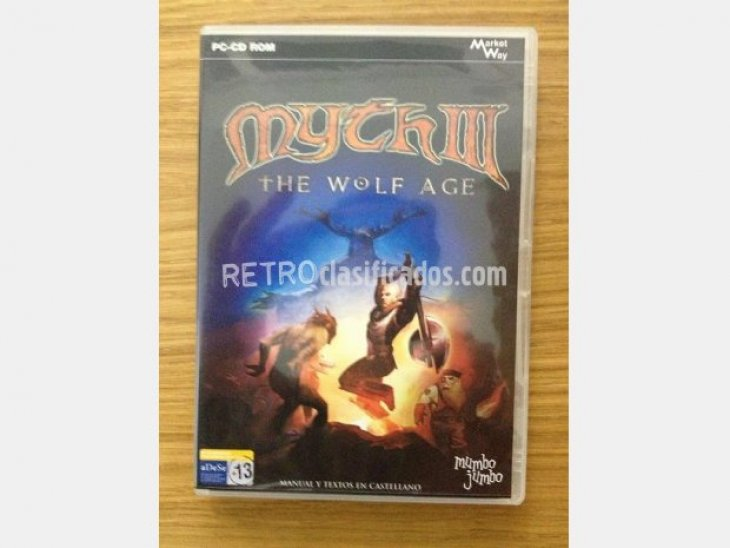 MYTH III The Wolf Age (Estrategia) PC
