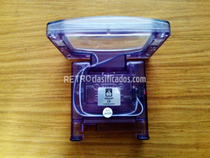 GAMEBOY ADVANCE - Lupa con luz 2