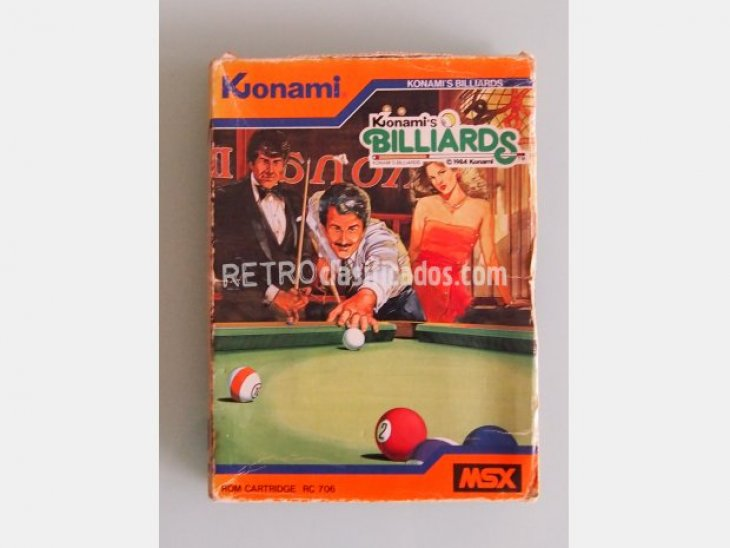 Konami´s billards 1