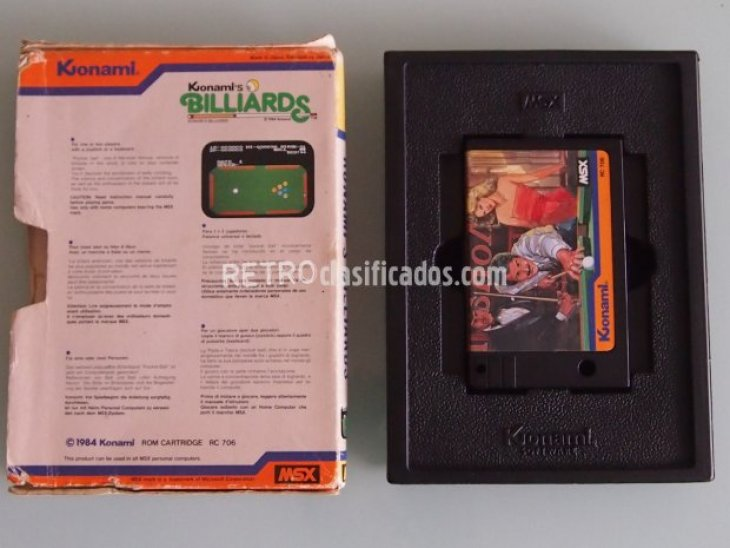 Konami´s billards 3