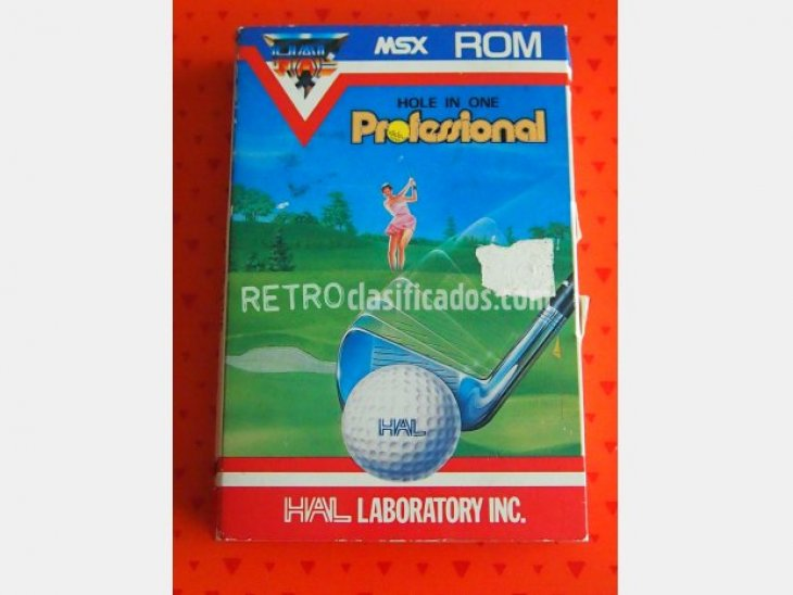 Hole in one professional MSX 1