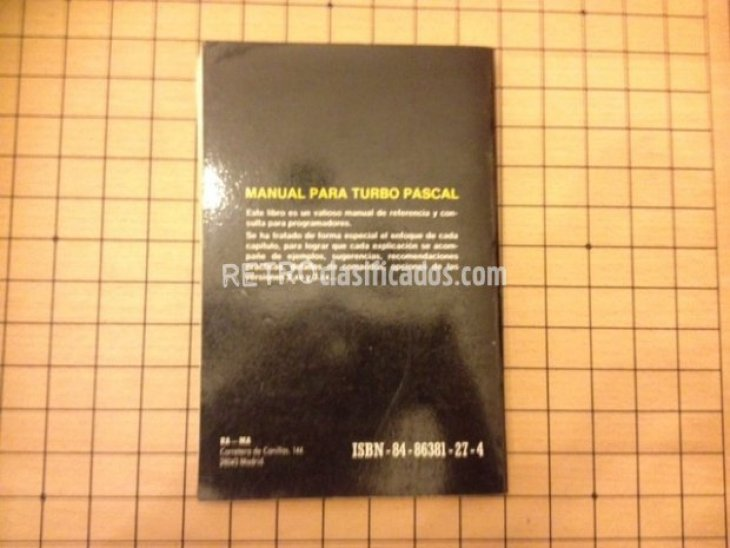 "Libro ""Manual para Turbo Pascal"" 2"