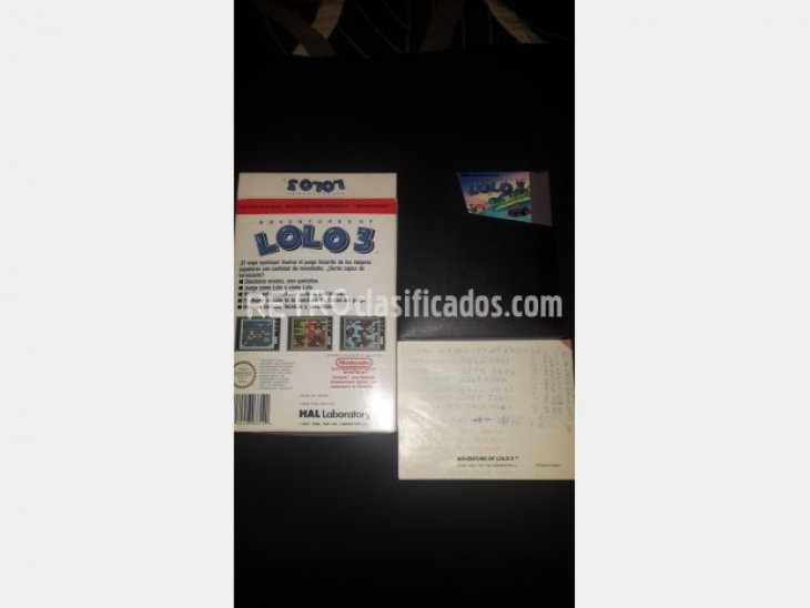 Adventures of Lolo 3 Nintendo nes Pal B 2