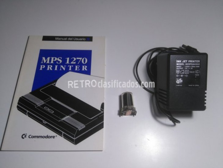 IMPRESORA COMMODORE MPS 1270 3