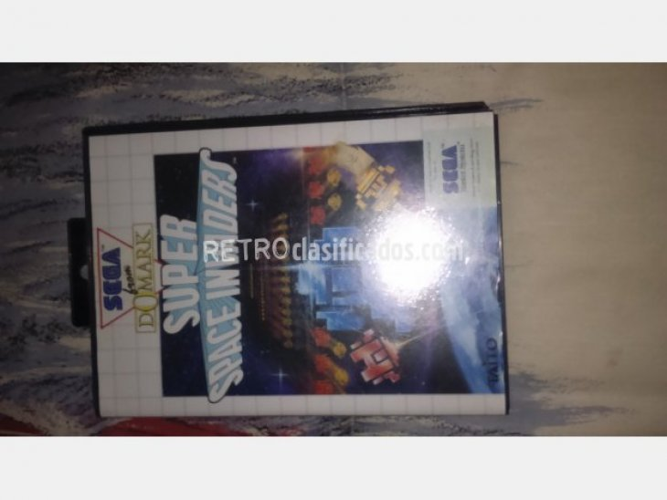 SUPER SPACE INVADERS MASTER SYSTEM 2