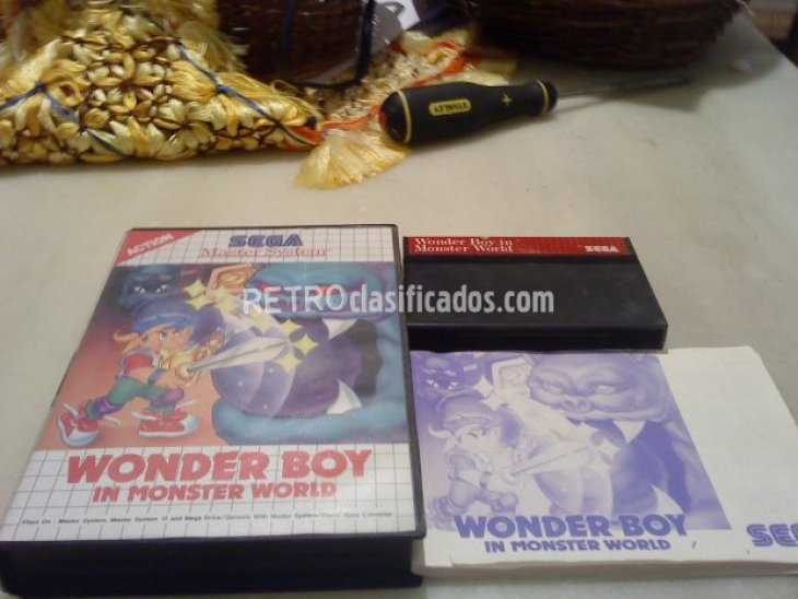 WONDERBOY IN MONSTER WORLD MASTER SYSTEM