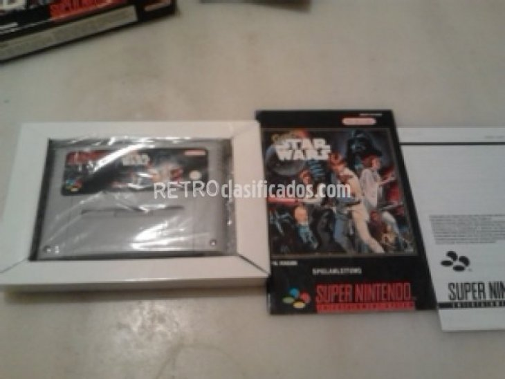 STAR WARS SUPERNINTENDO SNES COMPLETO 2