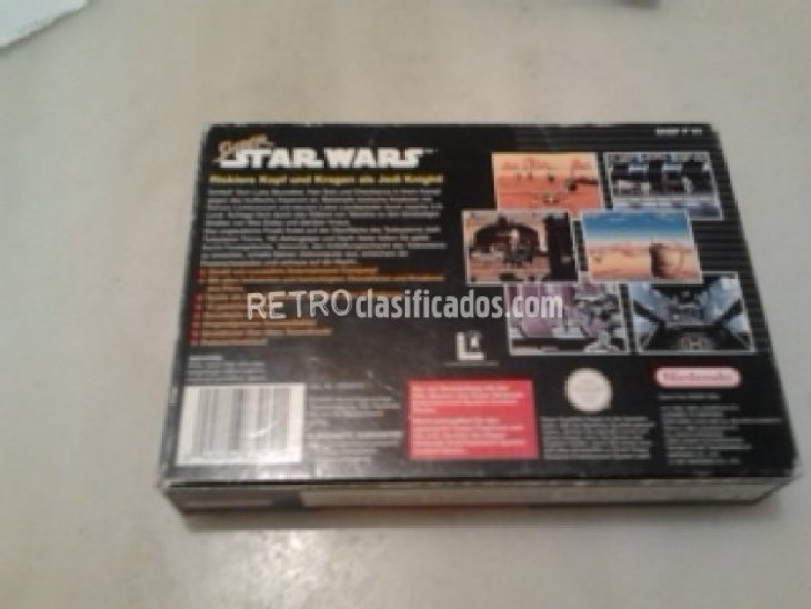 STAR WARS SUPERNINTENDO SNES COMPLETO 3