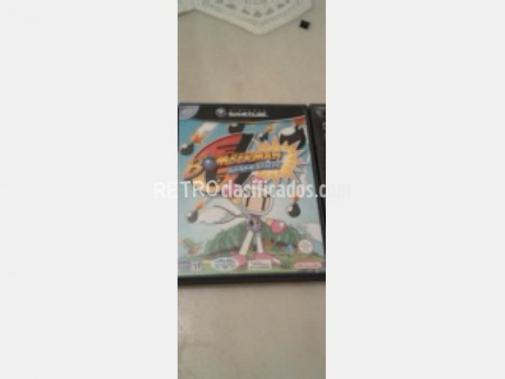 BOMBERMAN GENERATIONS GAMECUBE COMPLETO