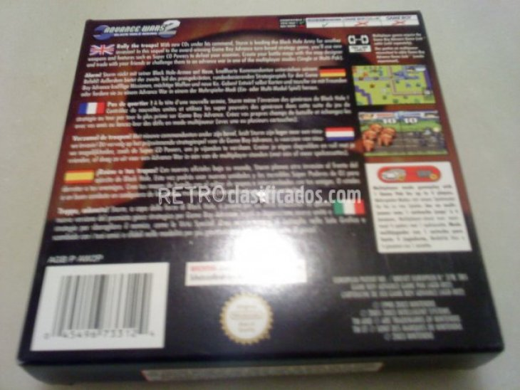 ADVANCE WARS 2 BLACK HOLE RISING PAL ESP 2