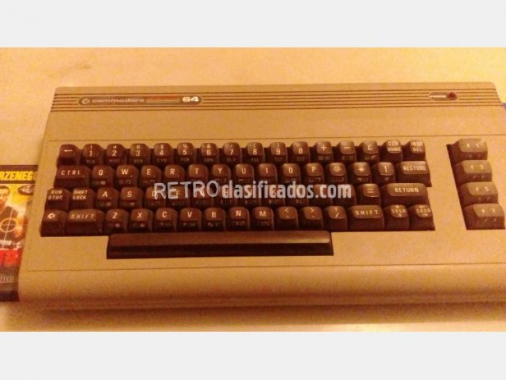 COMMODORE 64 VENDIDO 2