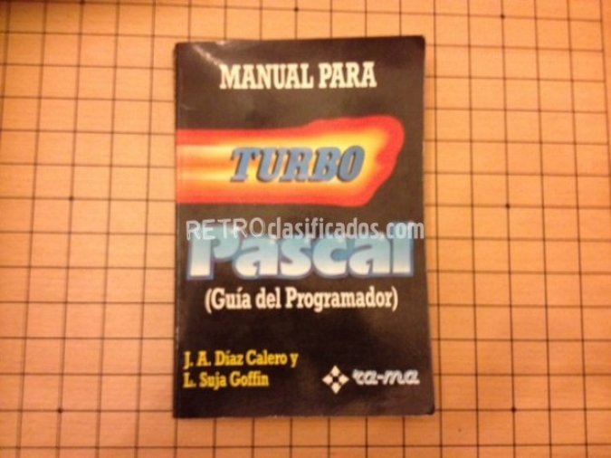 "Libro ""Manual para Turbo Pascal"""