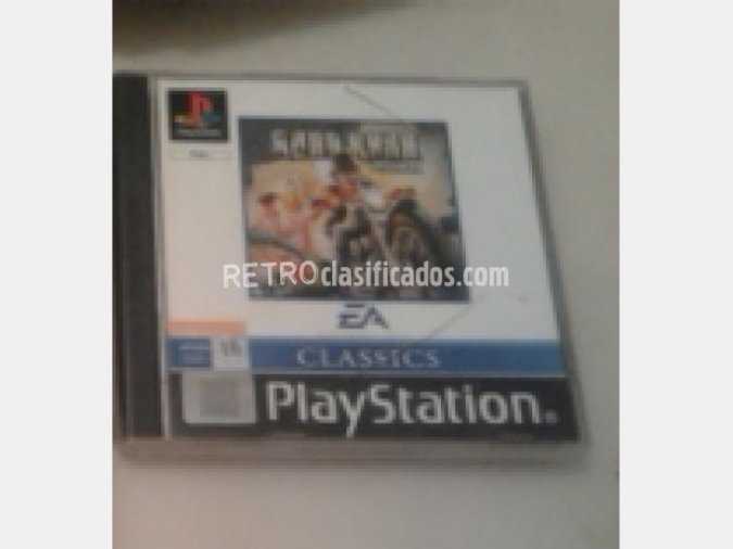 ROAD RASH PSX PLAYSTATION SIN MANUAL
