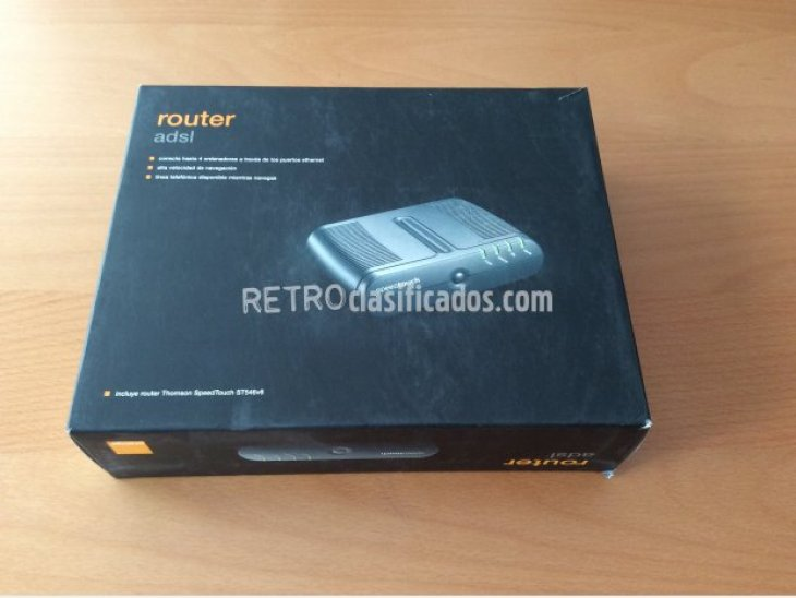 Router Thomson SpeedTouch ST546v6 5