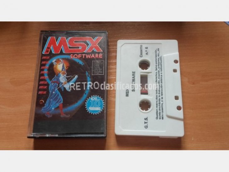 MSX SOFTWARE Nº6
