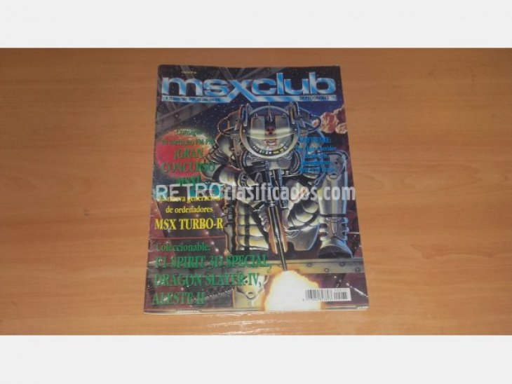 MSX - REVISTA MSX CLUB Nº75