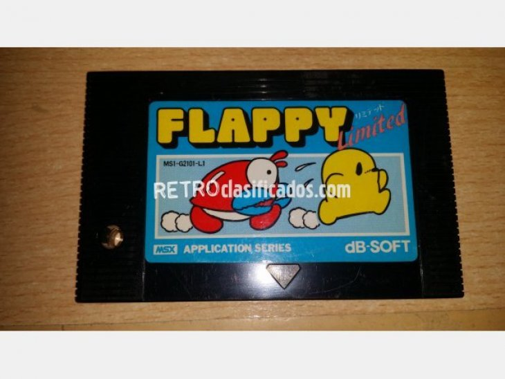 Flappy Limited Suelto MSX1